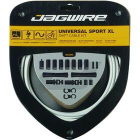 Jagwire Sport XL Universal Schaltzugset für Shimano/SRAM/Campagnolo 4000mm weiß